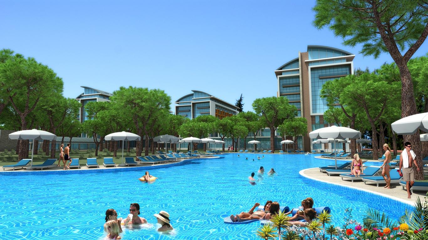 Hotel trendy lara 5 for Trendiest hotels